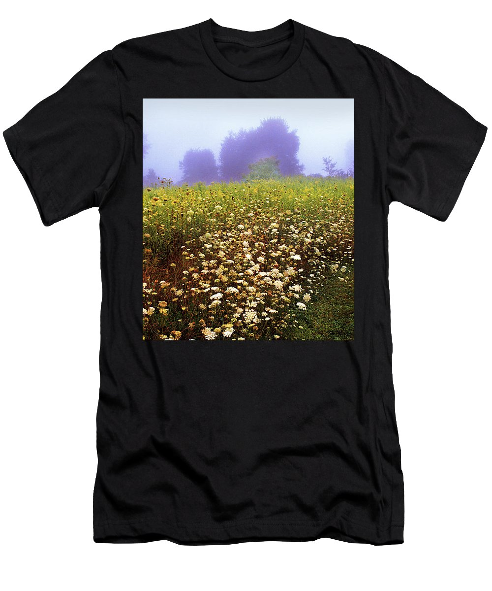 New York State Men's T-Shirt (Athletic Fit) featuring the photograph The Secret Garden by Yuri Lev