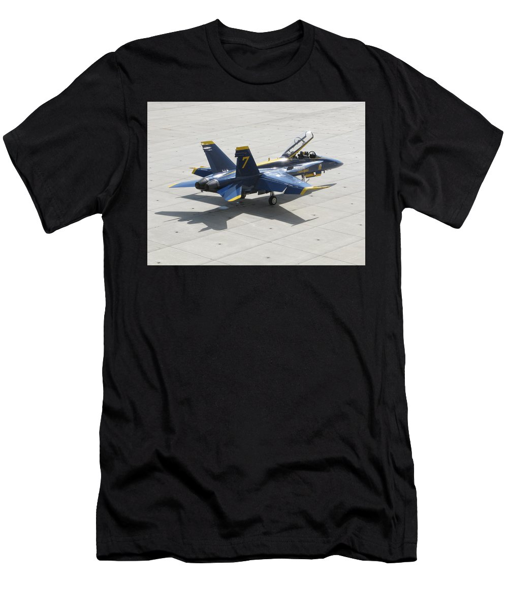 Number Men's T-Shirt (Athletic Fit) featuring the photograph The Seventh Angel by Bill Tomsa