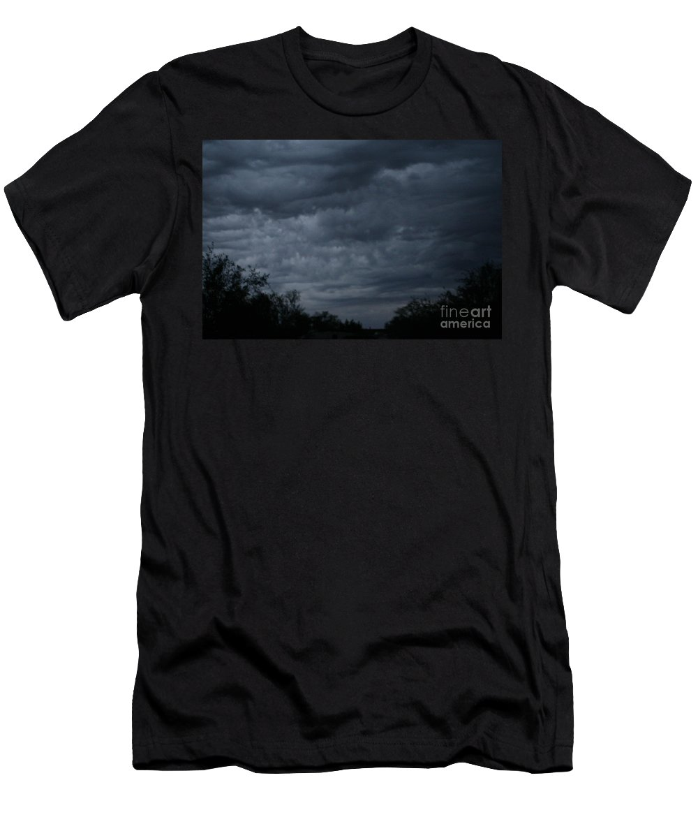 Monsoon Men's T-Shirt (Athletic Fit) featuring the photograph The Skys Watercolor Wash by Lynn Michelle