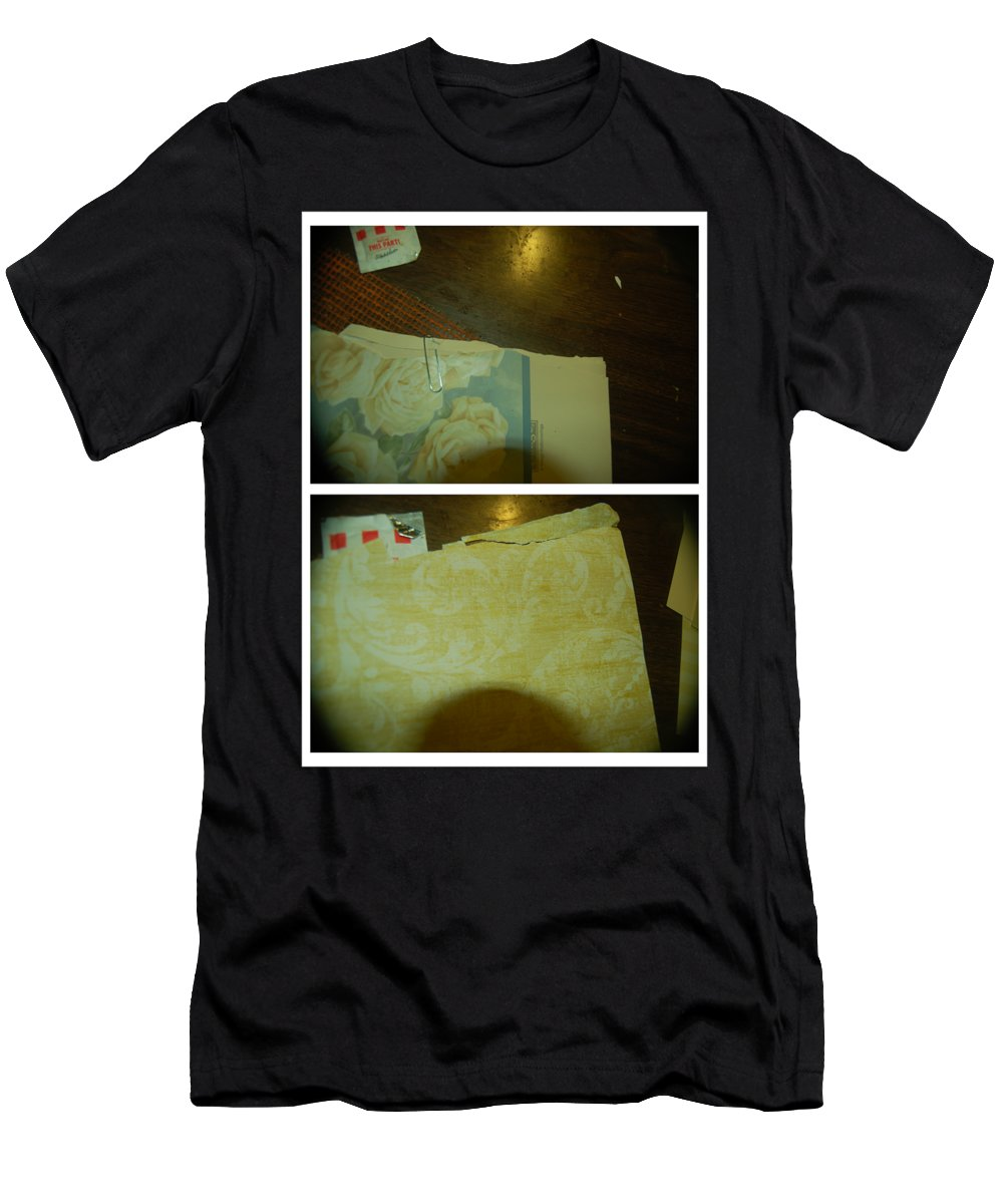 Abstract Men's T-Shirt (Athletic Fit) featuring the photograph The Sound Of Music by Alwyn Glasgow