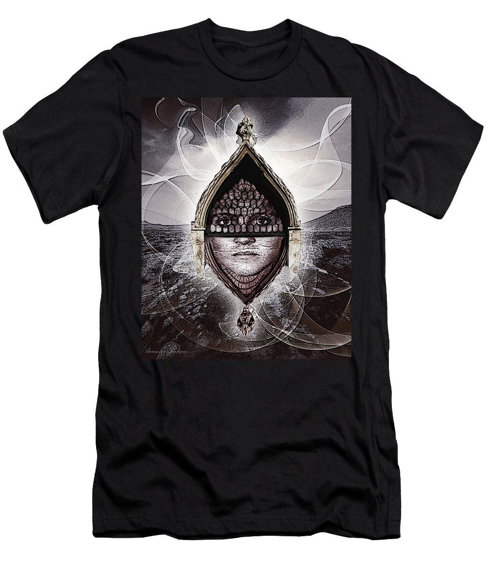 Spirit T-Shirt featuring the digital art The spirit by Veronica Jackson