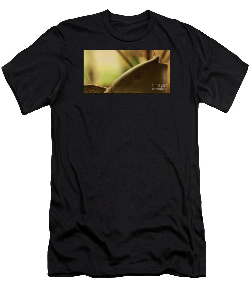 Abstract Men's T-Shirt (Athletic Fit) featuring the photograph The Storyteller by Linda Shafer