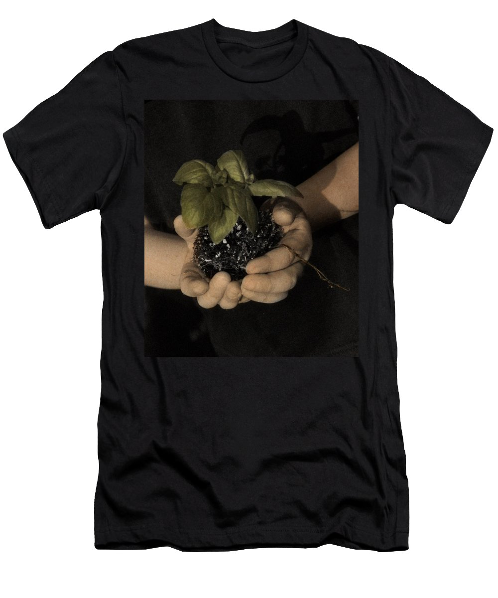 The Twelve Gifts Of Birth Men's T-Shirt (Athletic Fit) featuring the photograph The Twelve Gifts Of Birth - Talent 2 by Jill Reger