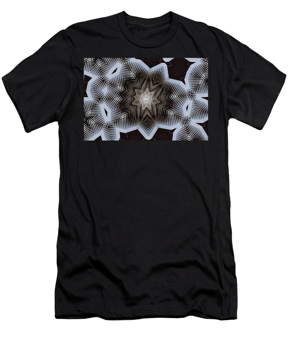Abstract Men's T-Shirt (Athletic Fit) featuring the digital art The Whole Story by John Dilworth