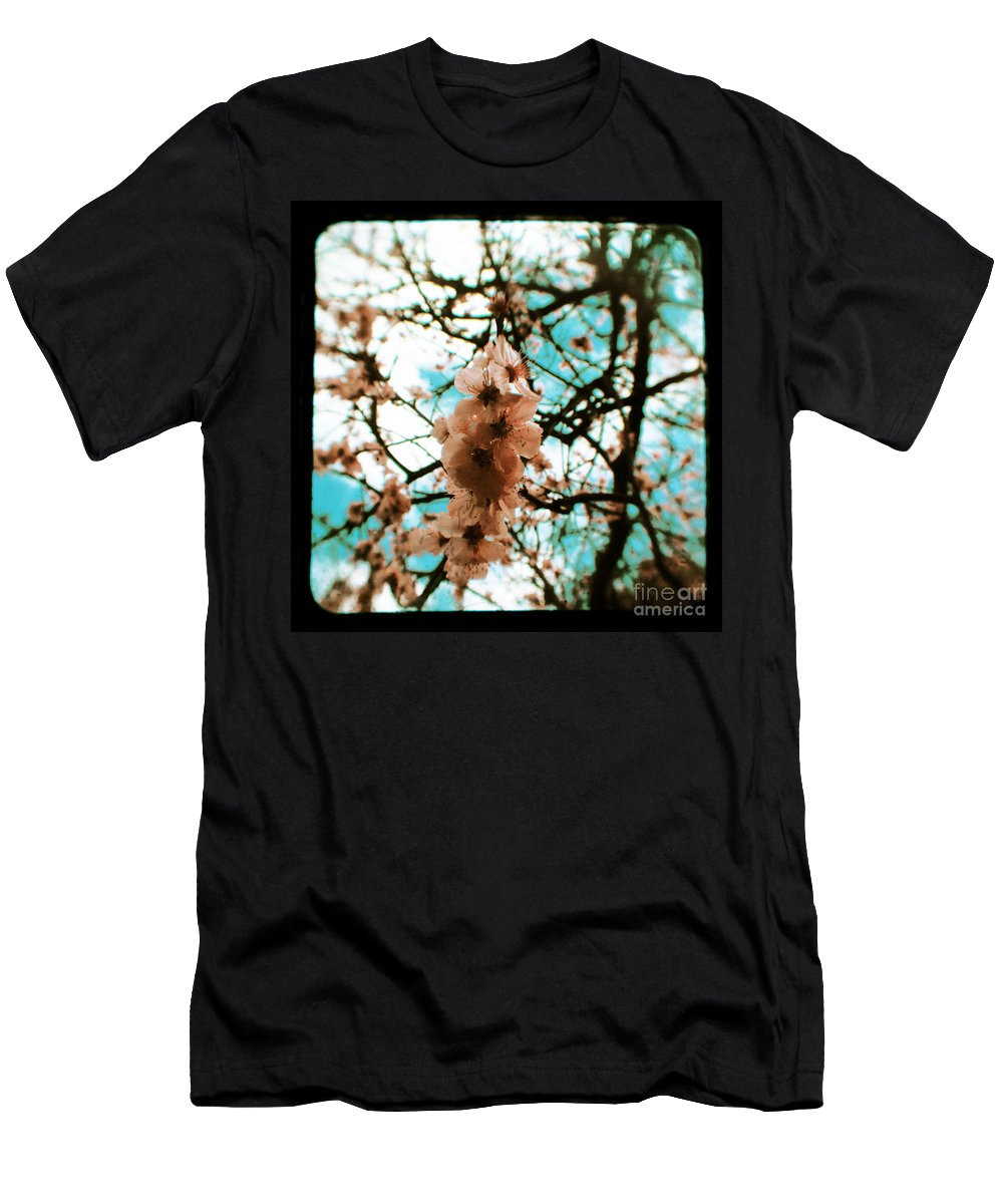 Aqua Men's T-Shirt (Athletic Fit) featuring the photograph Therapy by Andrew Paranavitana