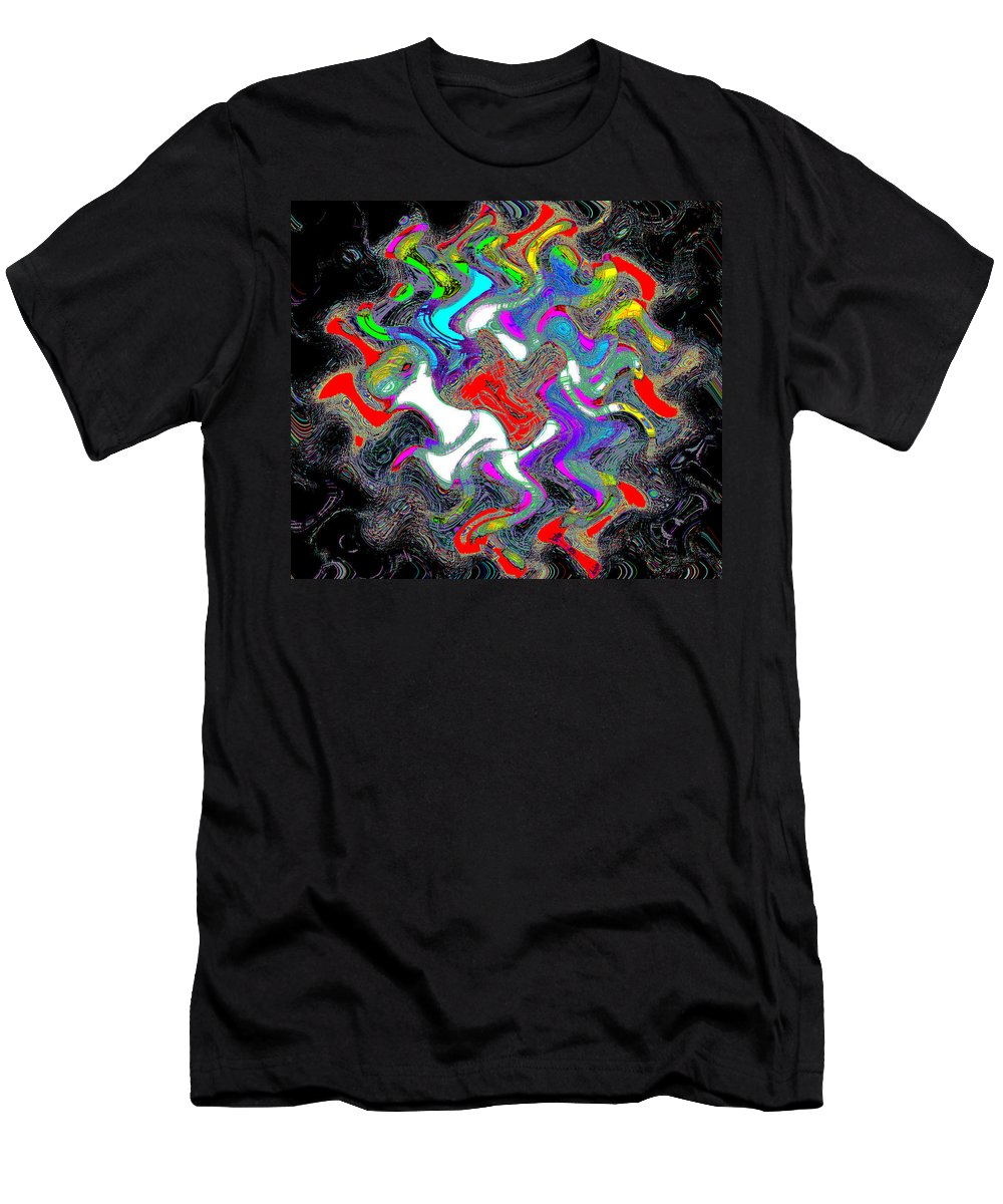Flowers Men's T-Shirt (Athletic Fit) featuring the photograph Things In The Night by Bill Cannon
