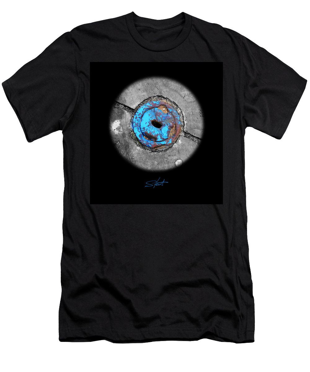Planet Men's T-Shirt (Athletic Fit) featuring the photograph Thirst by Charles Stuart