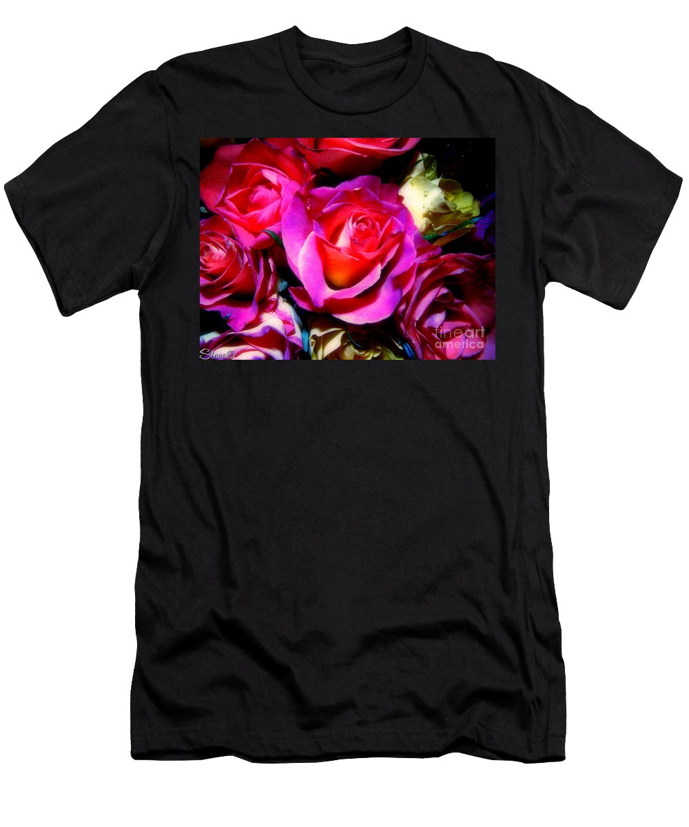 Rose Men's T-Shirt (Athletic Fit) featuring the photograph Thirty Six 4 by September Stone