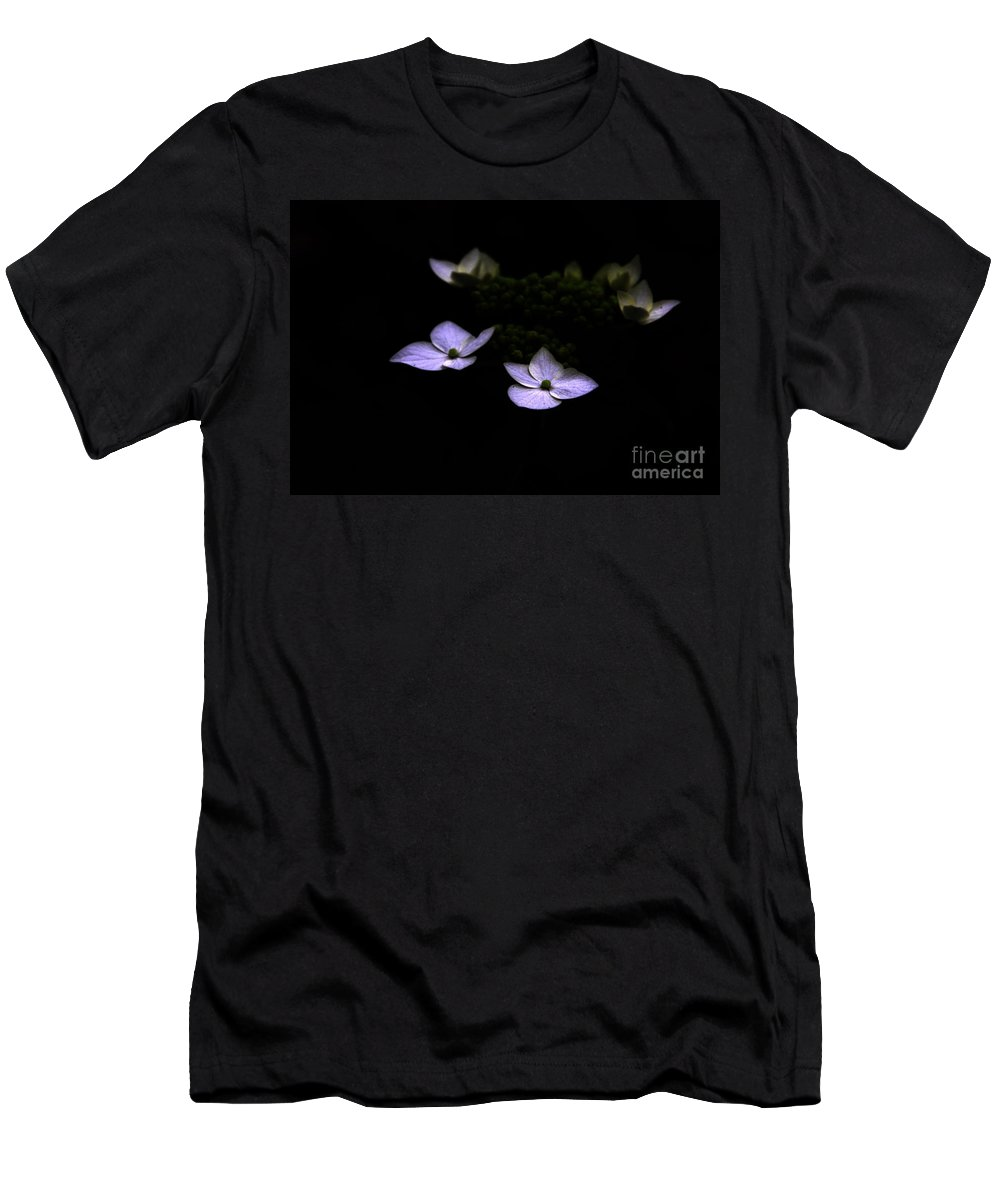 Hydrangea Men's T-Shirt (Athletic Fit) featuring the photograph This Little Light Of Mine by Amanda Barcon