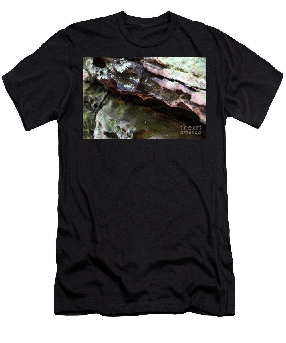 Mountainous Men's T-Shirt (Athletic Fit) featuring the photograph Thoughts by Amanda Barcon