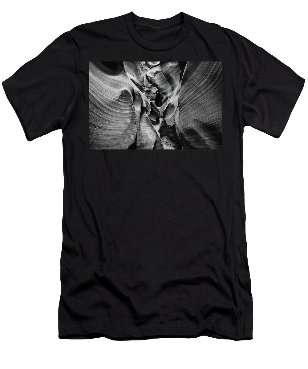 2007 Men's T-Shirt (Athletic Fit) featuring the photograph Tight Squeeze by Jay Beckman