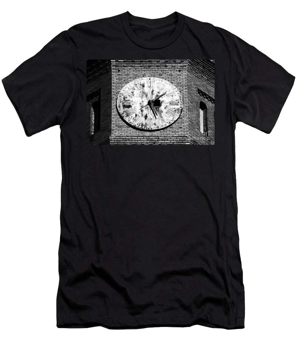 Time Men's T-Shirt (Athletic Fit) featuring the photograph Time by David Lee Thompson