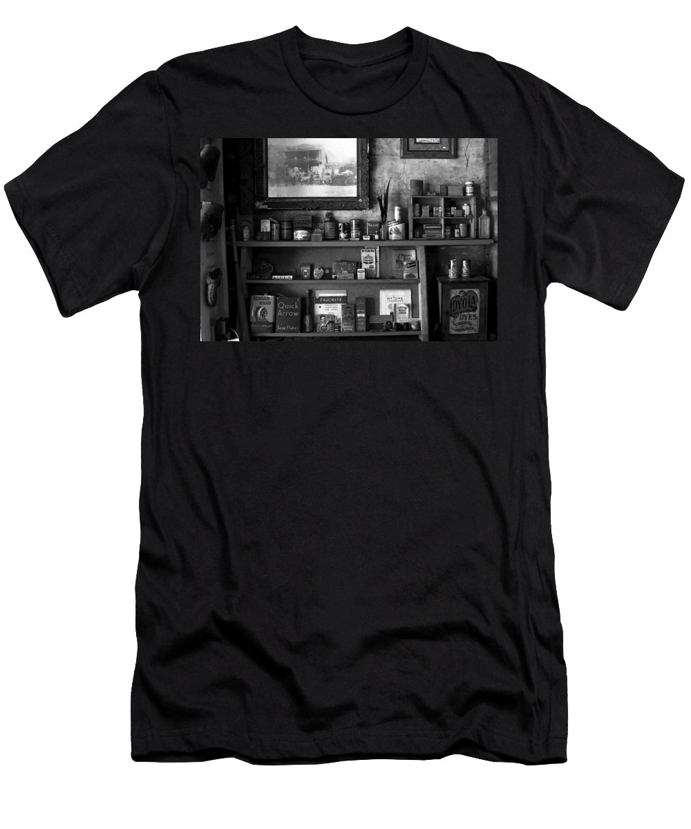 Antics Men's T-Shirt (Athletic Fit) featuring the painting Time Standing Still by David Lee Thompson