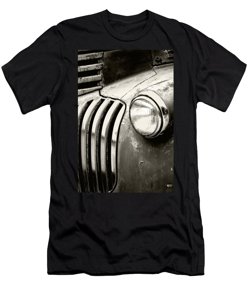 Cars Men's T-Shirt (Athletic Fit) featuring the photograph Time Traveler by Holly Kempe
