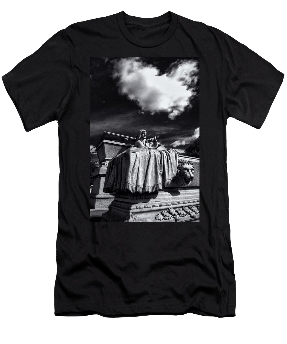 Cemetery Men's T-Shirt (Athletic Fit) featuring the photograph To The Heavens by Scott Wyatt