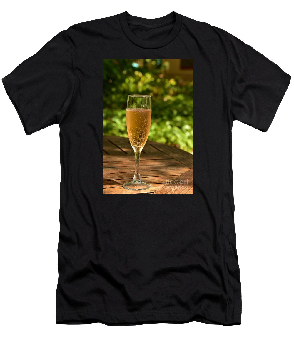 Toast Men's T-Shirt (Athletic Fit) featuring the photograph Toast 2 by Lisa Renee Ludlum