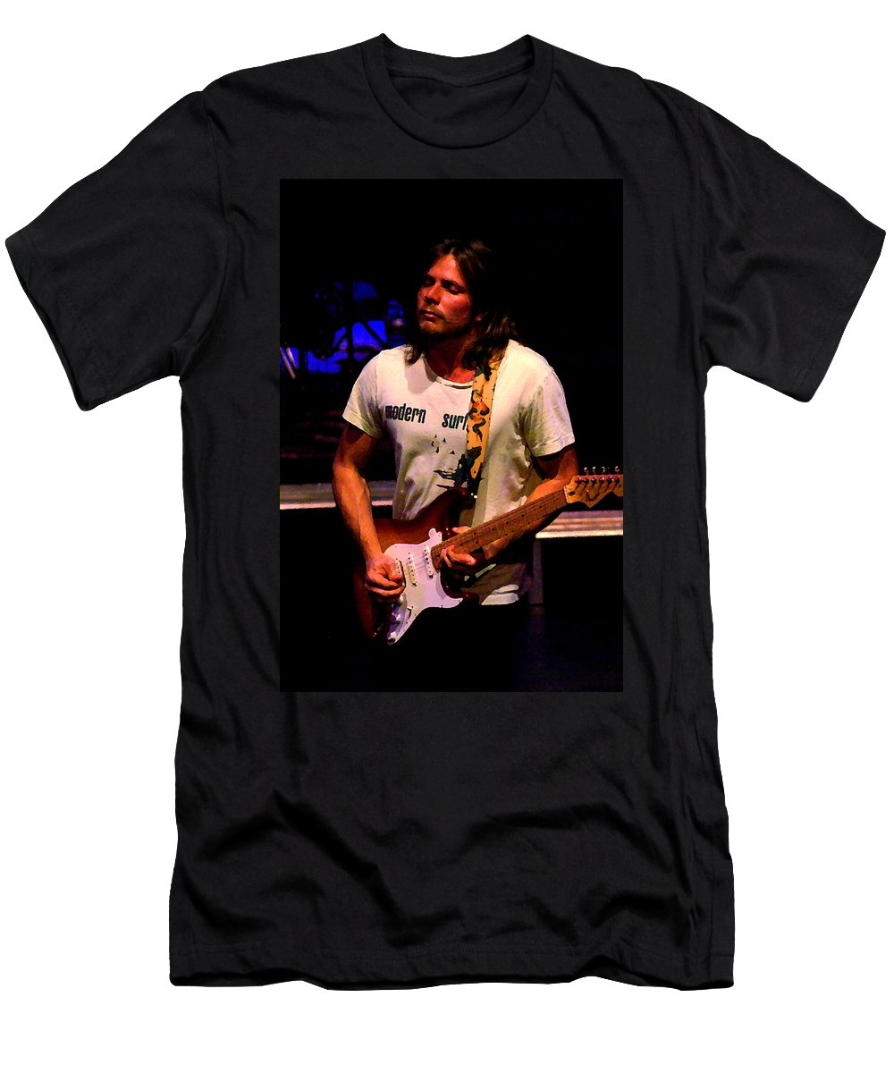 Lukas Nelson Men's T-Shirt (Athletic Fit) featuring the photograph Toppers 2 by Ben Upham
