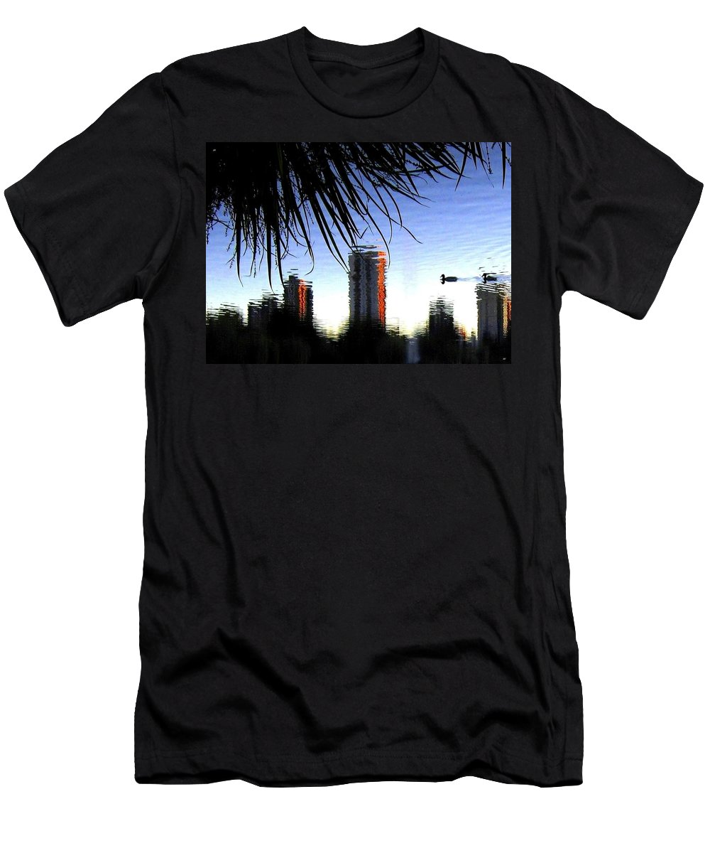 Sunset Men's T-Shirt (Athletic Fit) featuring the photograph Topsy-turvy by Will Borden