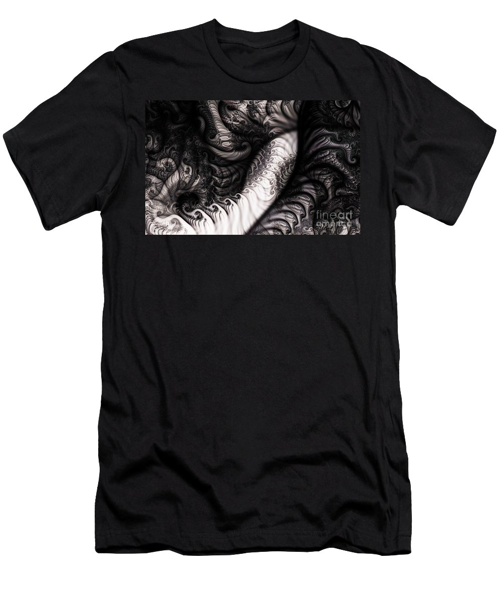 Clay Men's T-Shirt (Athletic Fit) featuring the digital art Traffic Jam by Clayton Bruster