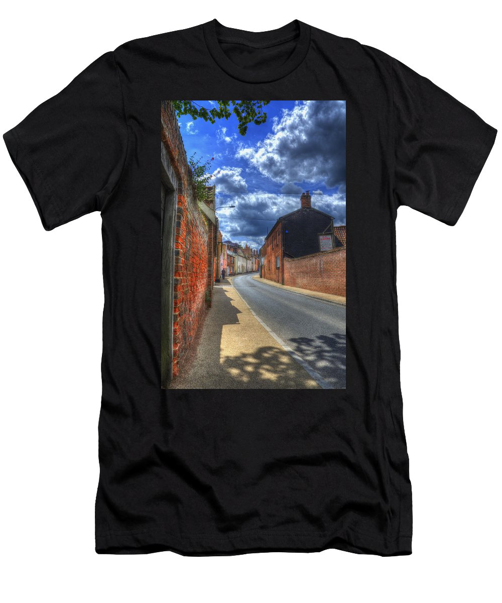 Northgate Men's T-Shirt (Athletic Fit) featuring the digital art Tranquil by Nigel Bangert