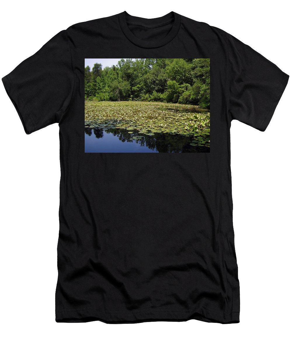 Tranquility Men's T-Shirt (Athletic Fit) featuring the photograph Tranquility by Flavia Westerwelle