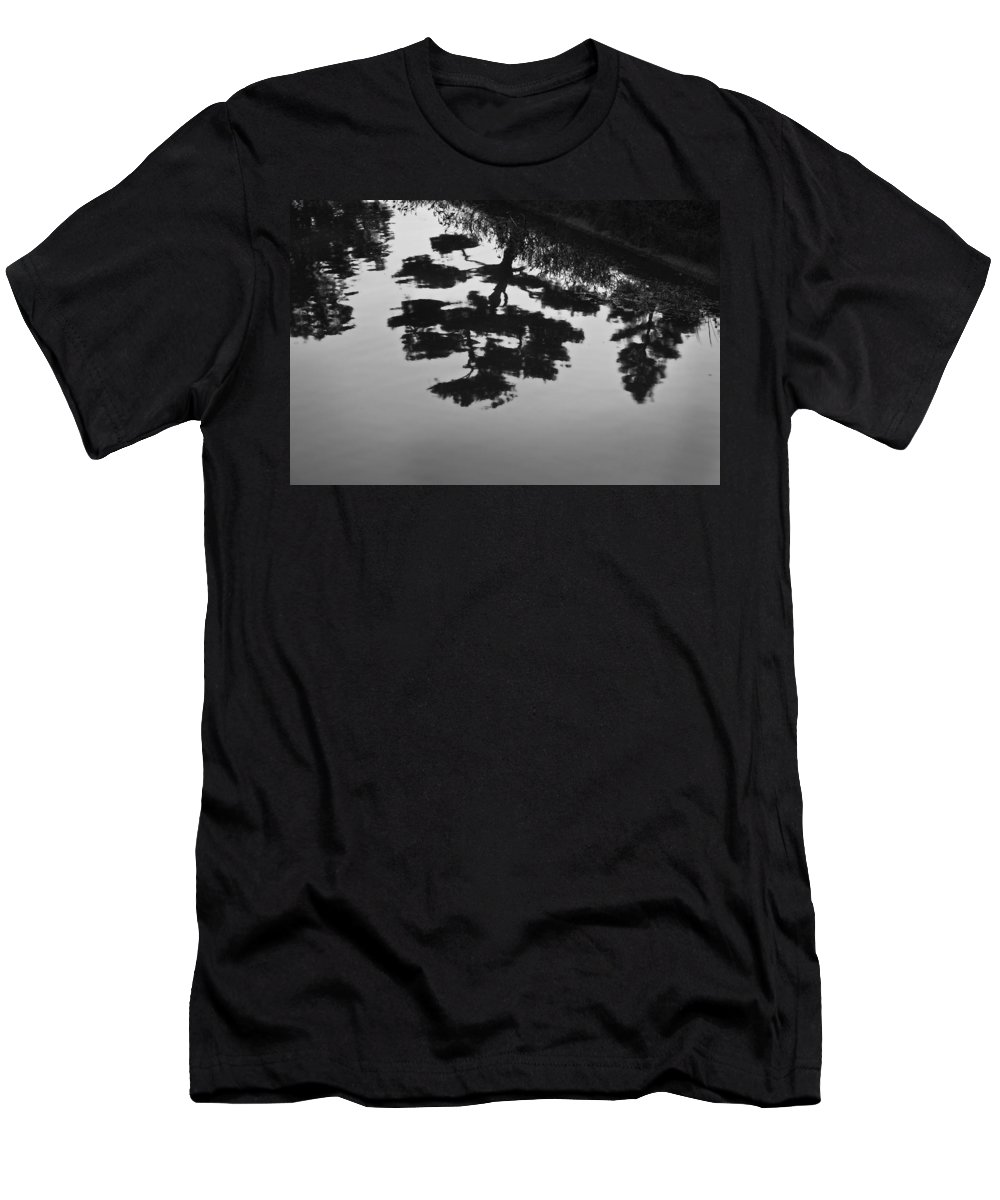 Tranquility Men's T-Shirt (Athletic Fit) featuring the photograph Tranquility II by John Hansen