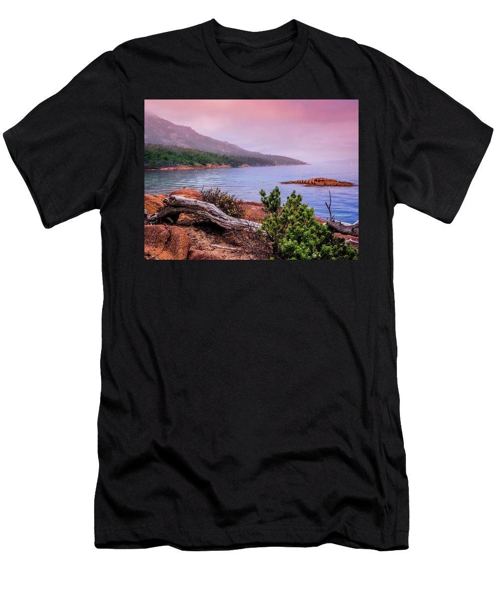 Tranquil Men's T-Shirt (Athletic Fit) featuring the photograph Tranquillity At Dawn by Kaleidoscopik Photography