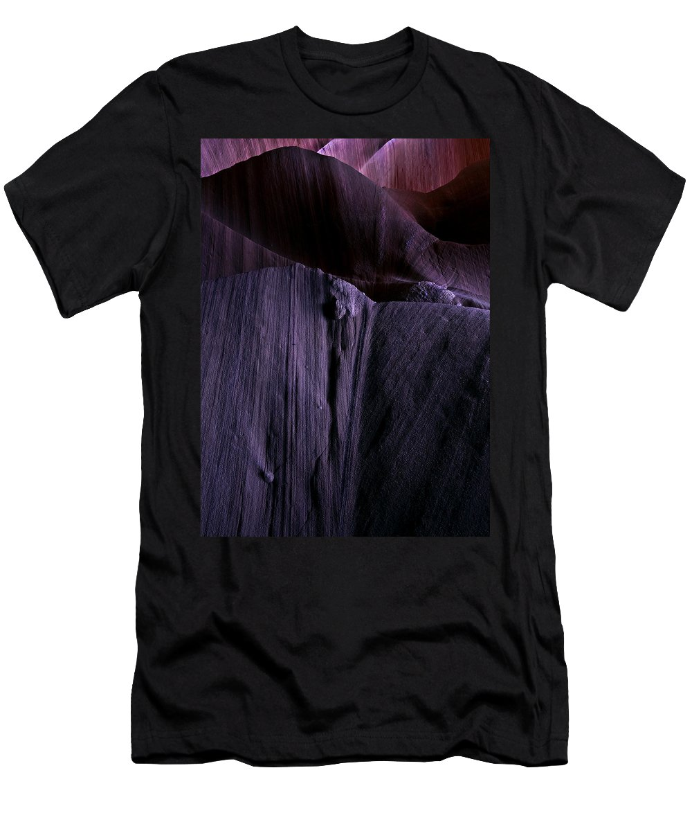 Sandstone Men's T-Shirt (Athletic Fit) featuring the photograph Transitions by Mike Dawson