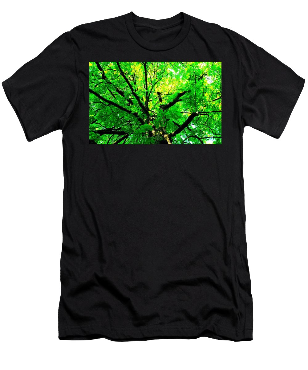 Tree Men's T-Shirt (Athletic Fit) featuring the digital art Tree by Dorothy Binder