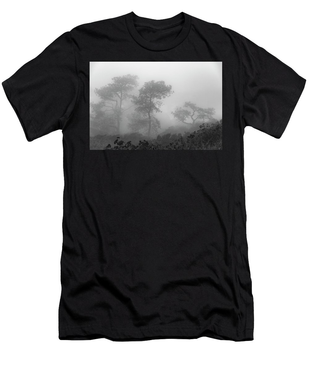 Torrey Pines Men's T-Shirt (Athletic Fit) featuring the photograph Tres Amigos by Guy Shultz
