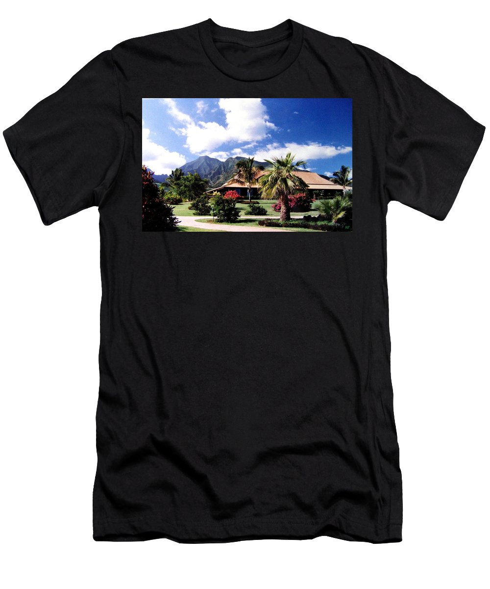 1986 Men's T-Shirt (Athletic Fit) featuring the photograph Tropical Plantation by Will Borden
