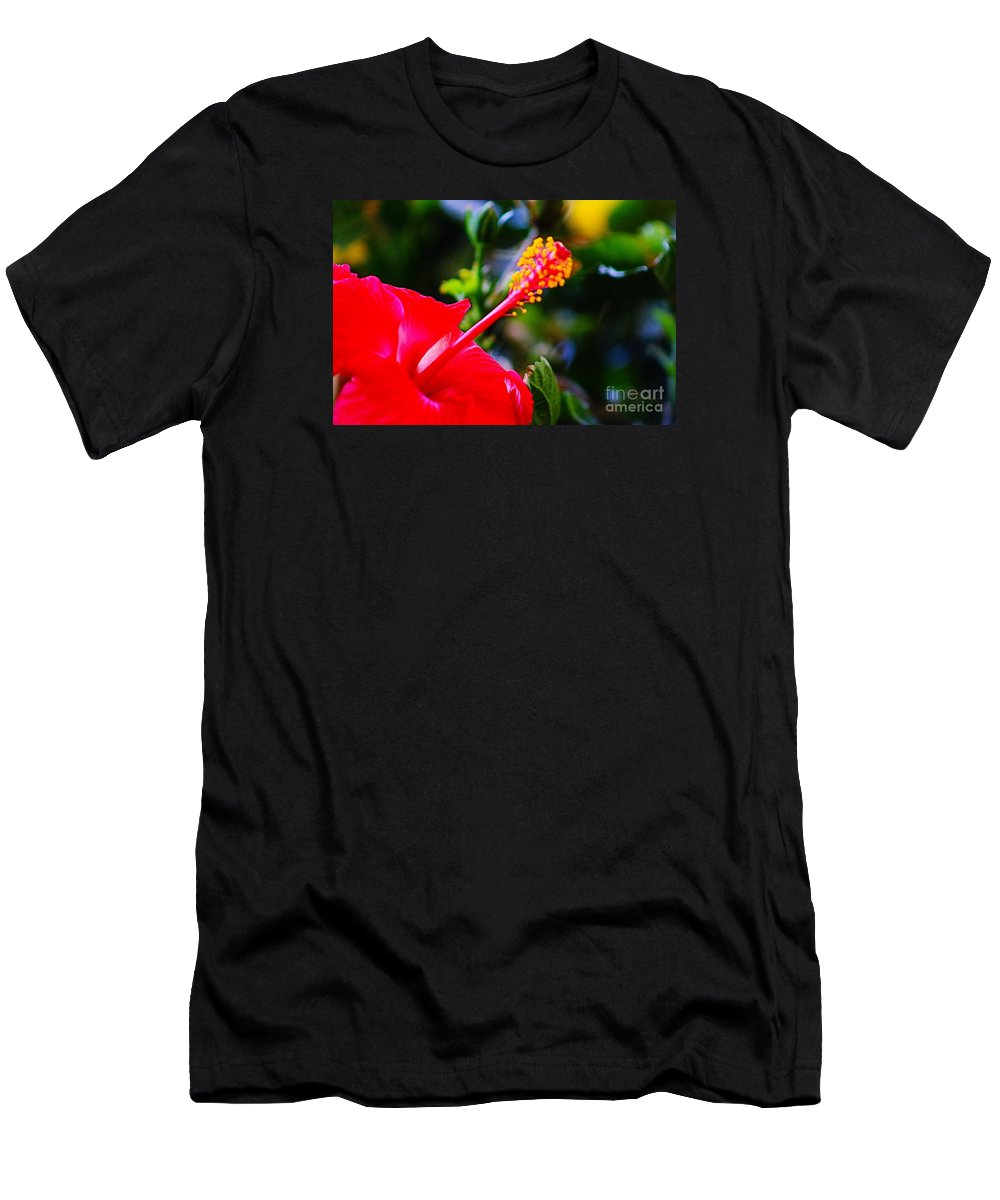 Nature Men's T-Shirt (Athletic Fit) featuring the photograph Tropical Splendor by Don Baker