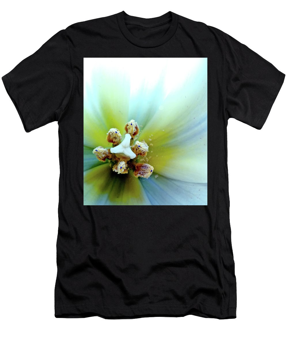 Flowers Men's T-Shirt (Athletic Fit) featuring the photograph Tulips #12 by Jarmo Honkanen