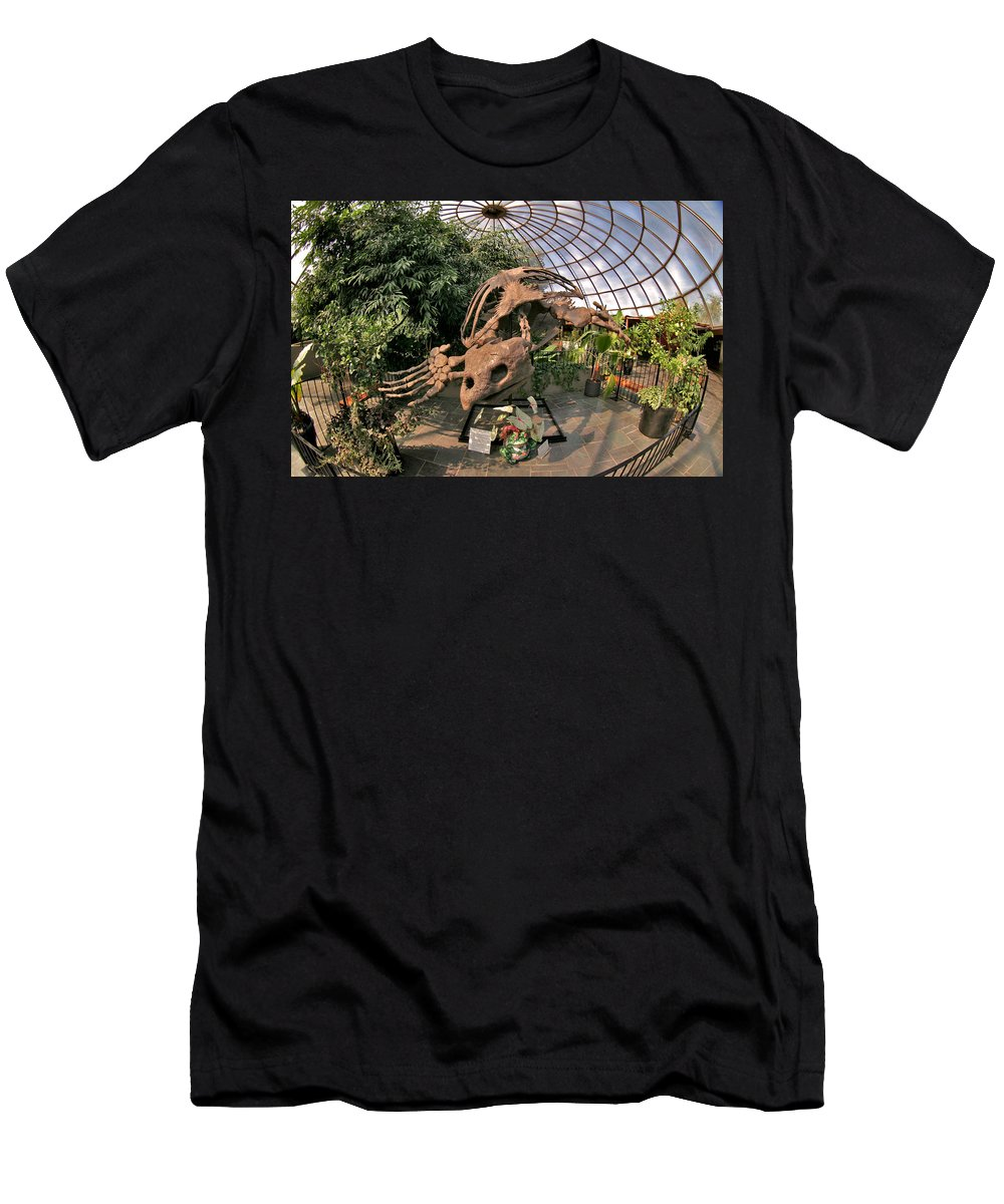 Mount Rushmore Men's T-Shirt (Athletic Fit) featuring the photograph Turtle Skeleton by Mike Oistad