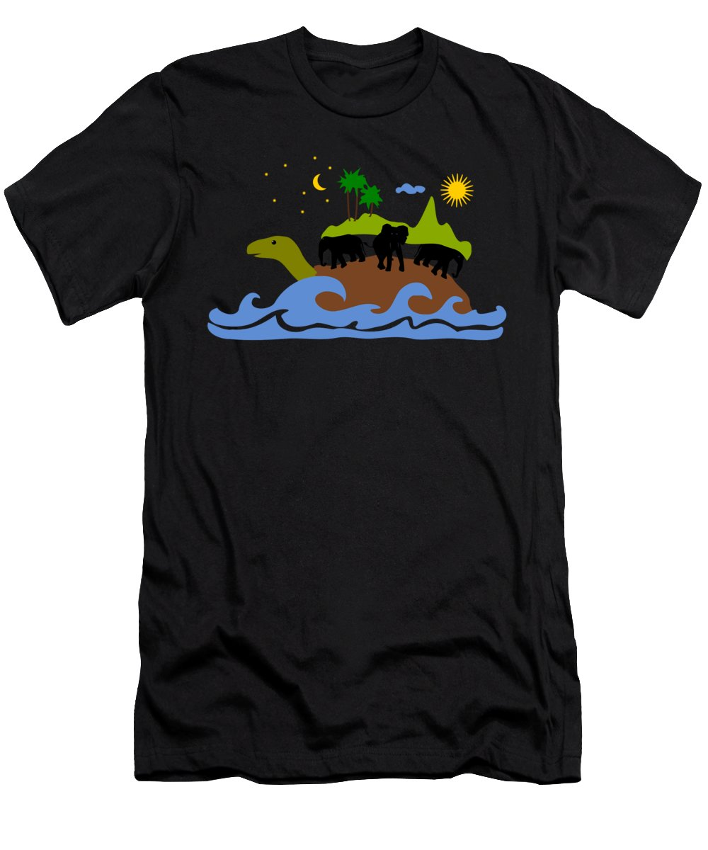 Present Mixed Media T-Shirts