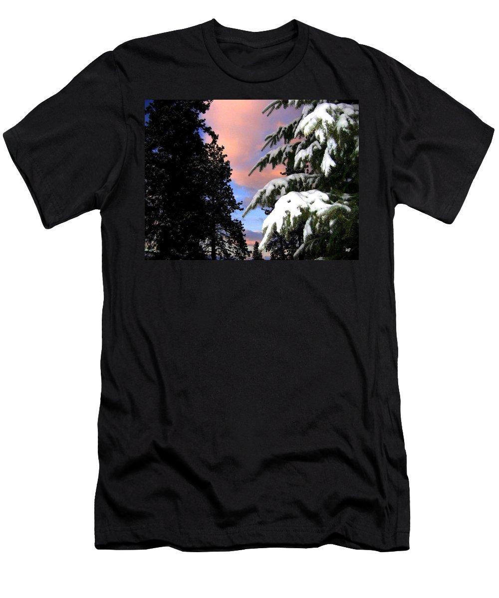 Sunset Men's T-Shirt (Athletic Fit) featuring the photograph Twilight Hour by Will Borden