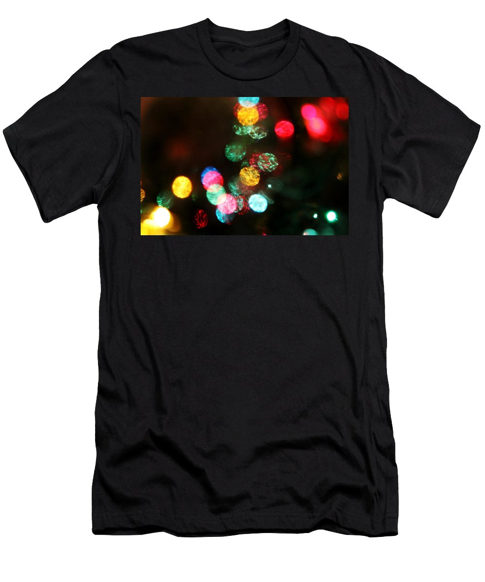 Lights Men's T-Shirt (Athletic Fit) featuring the photograph Twinkle by Denise Irving