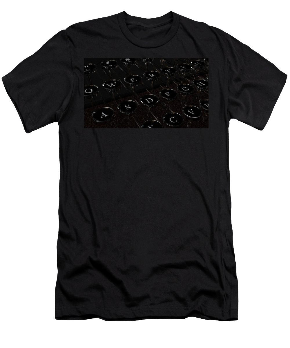 Type Men's T-Shirt (Athletic Fit) featuring the digital art Type by James Barnes