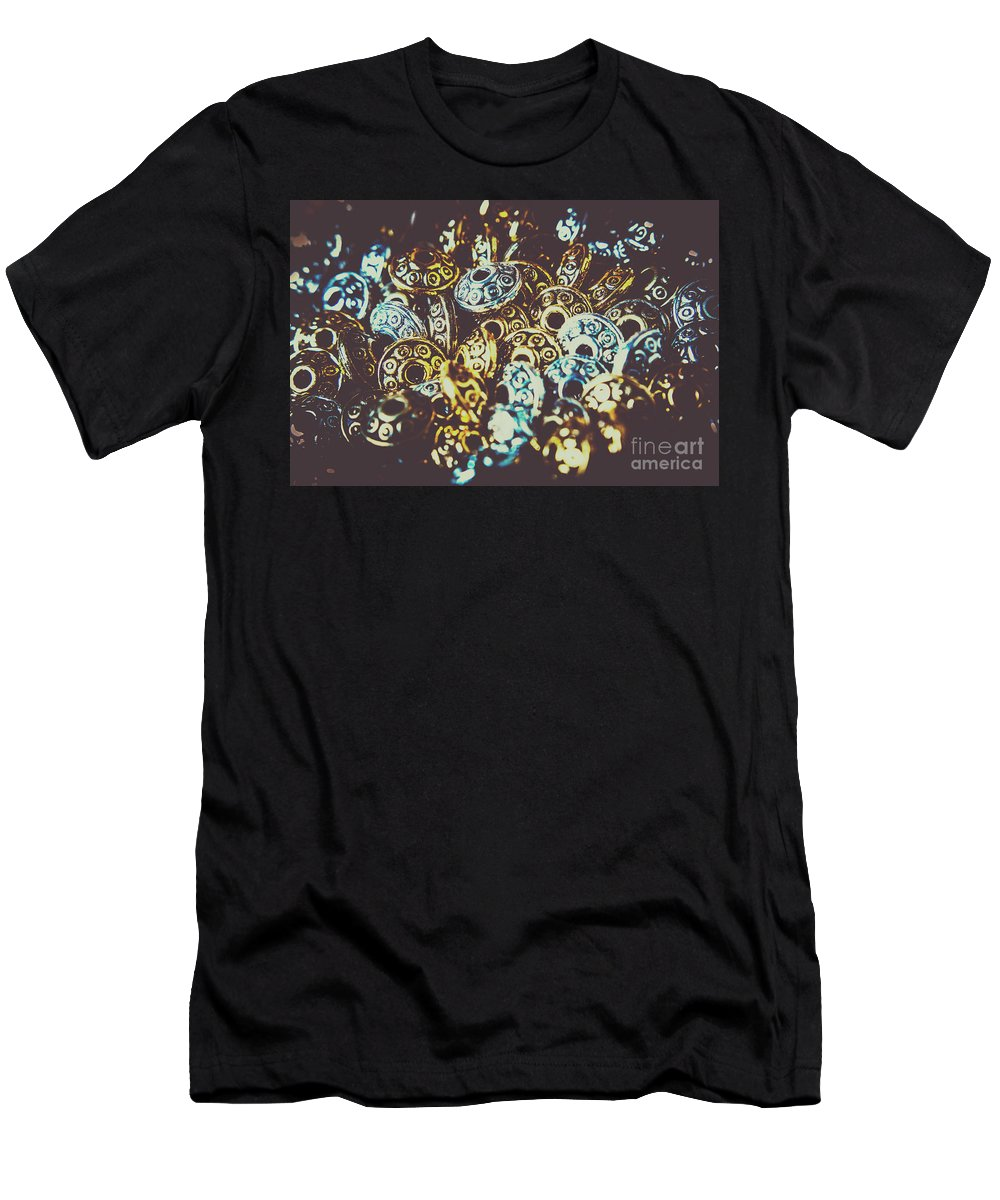 Ufos Men's T-Shirt (Athletic Fit) featuring the photograph Ufo Flying Saucers by Jorgo Photography - Wall Art Gallery