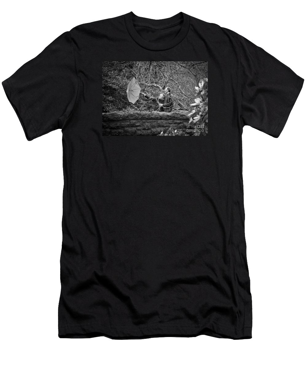 Engagement Men's T-Shirt (Athletic Fit) featuring the photograph Ula And Wojtek Engagement 16 by Alex Art and Photo