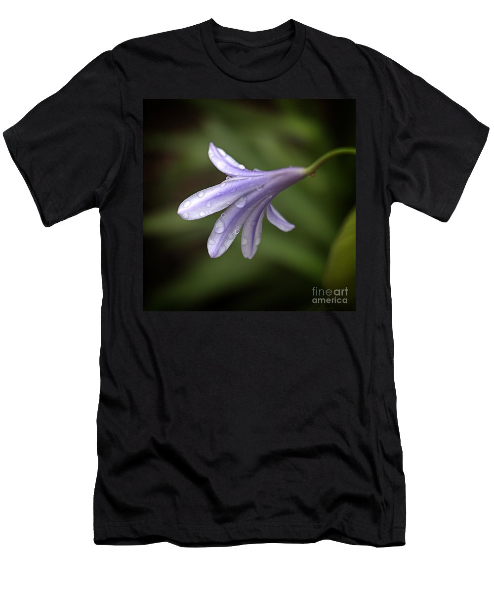 Flower Art Men's T-Shirt (Athletic Fit) featuring the photograph Uncomplicated by Ella Kaye Dickey