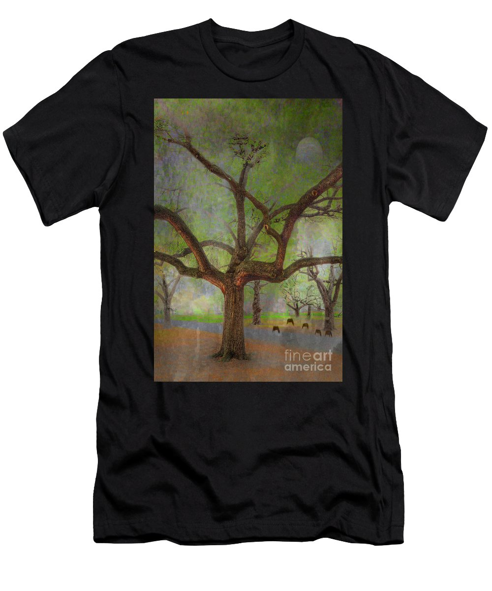 Travel T-Shirt featuring the photograph Under The Live Oak by Larry Braun