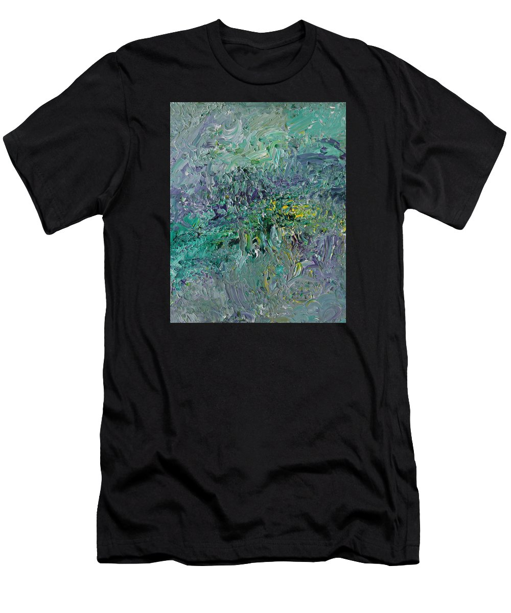 Fusionart Men's T-Shirt (Athletic Fit) featuring the painting Blind Giverny by Ralph White