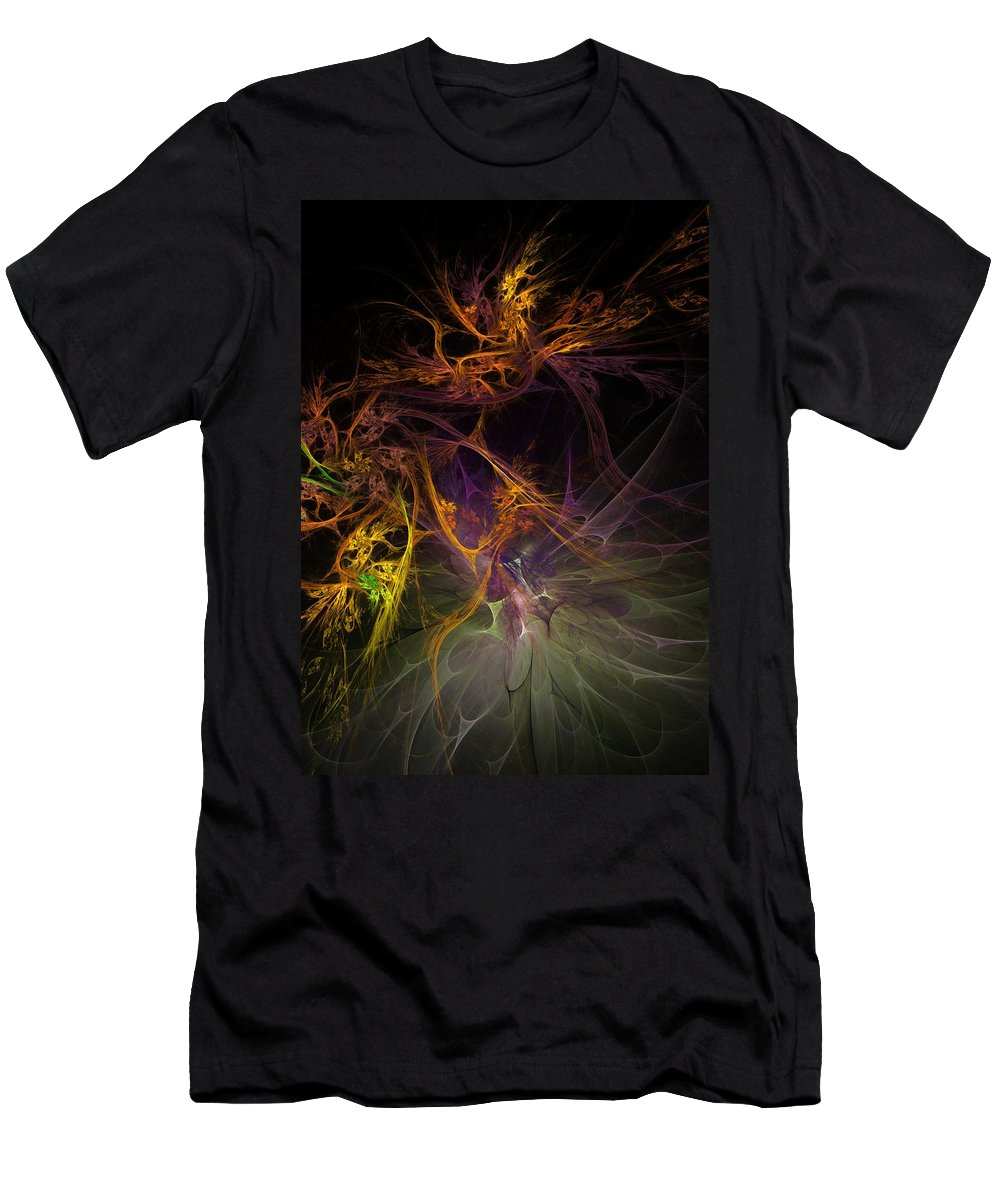 Digital Painting Men's T-Shirt (Athletic Fit) featuring the digital art Untitled 01-20-10 by David Lane