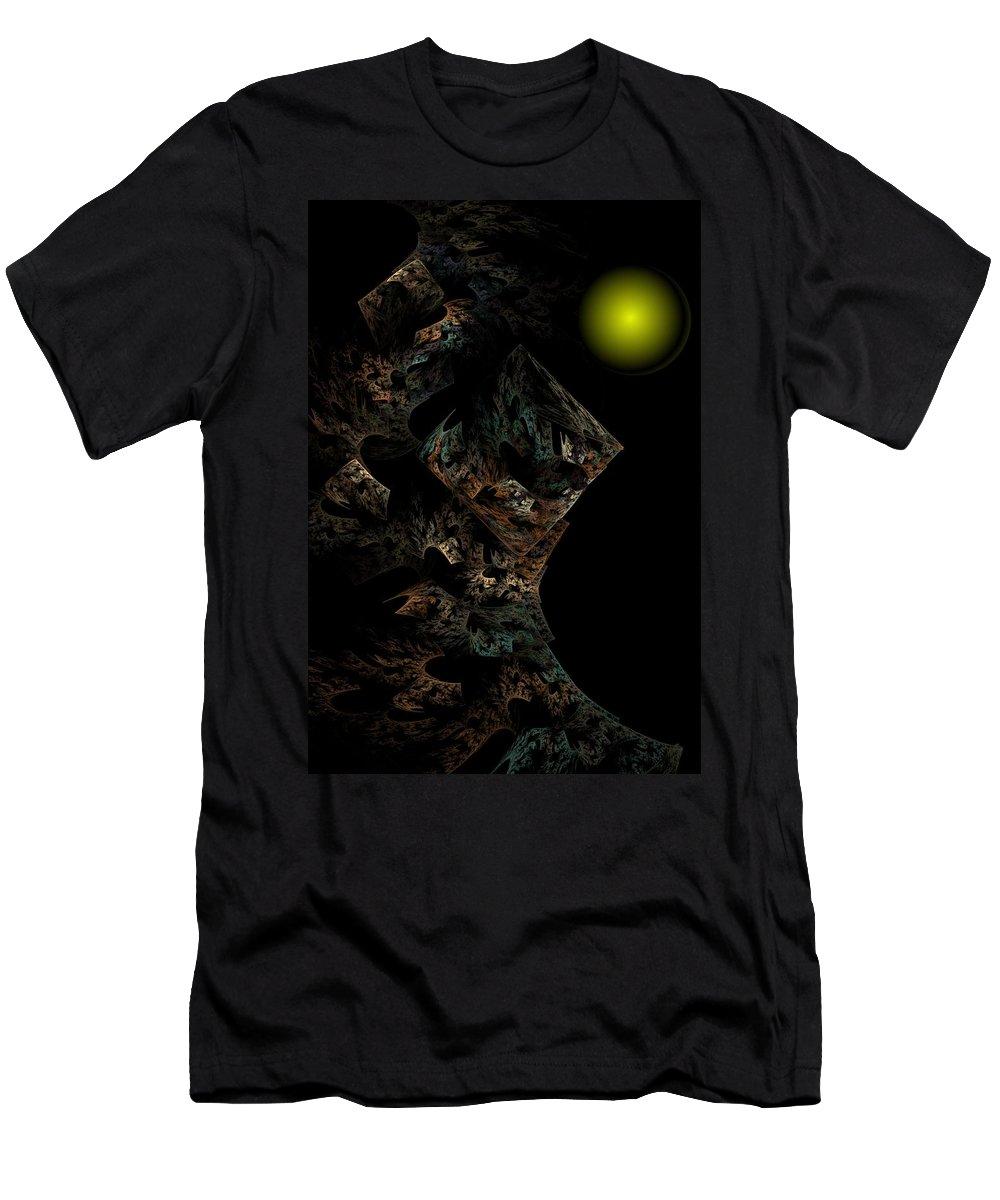 Fantasy T-Shirt featuring the digital art Untitled 12-18-09 by David Lane
