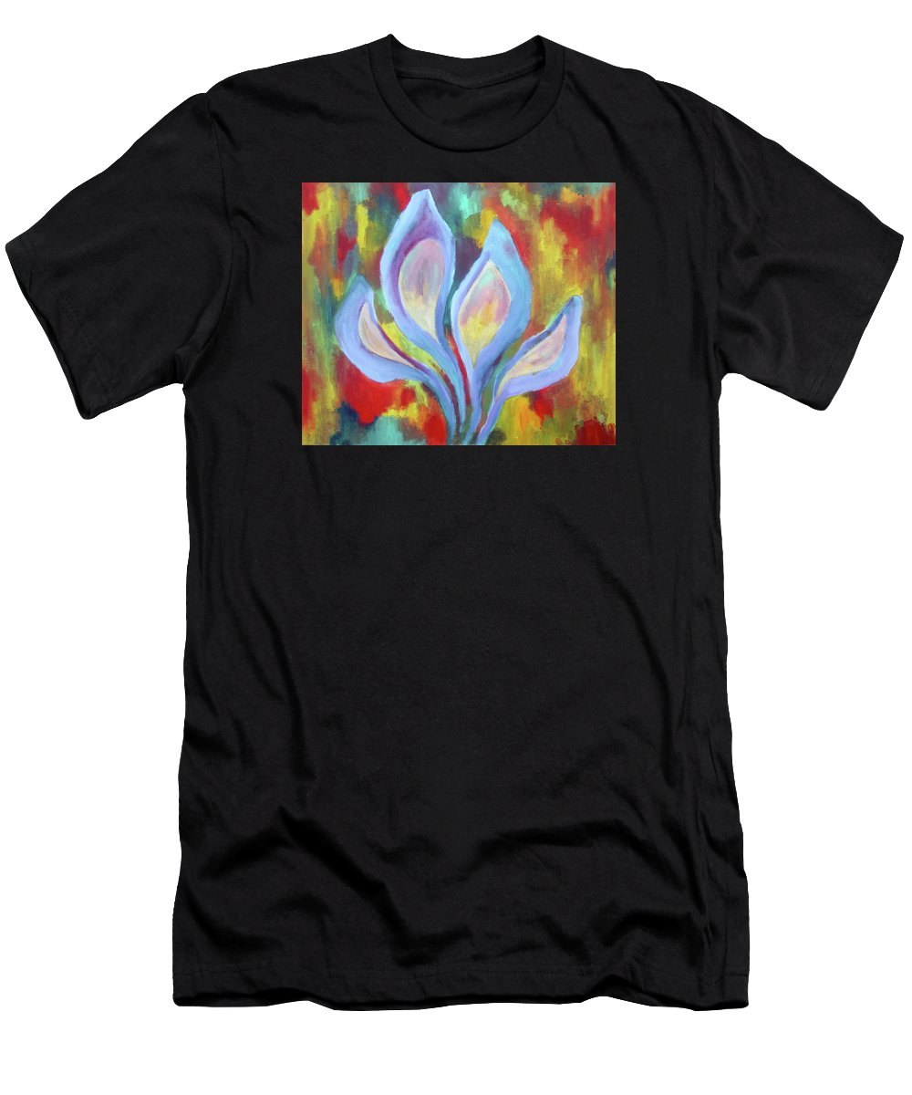 2005 Men's T-Shirt (Athletic Fit) featuring the painting Untitled 2005 by Will Felix