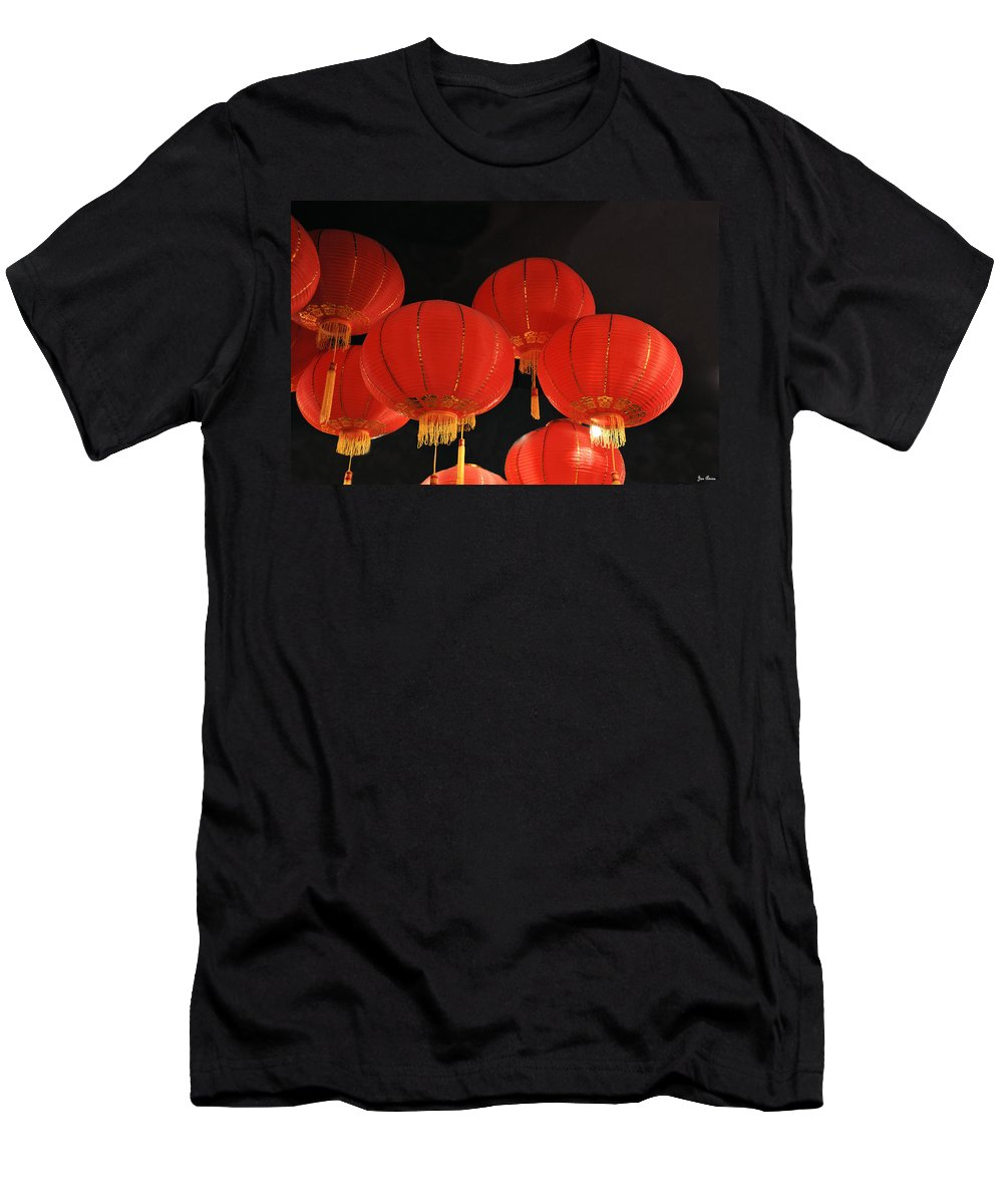 Still Life Men's T-Shirt (Athletic Fit) featuring the photograph Up Up And Away by Jan Amiss Photography