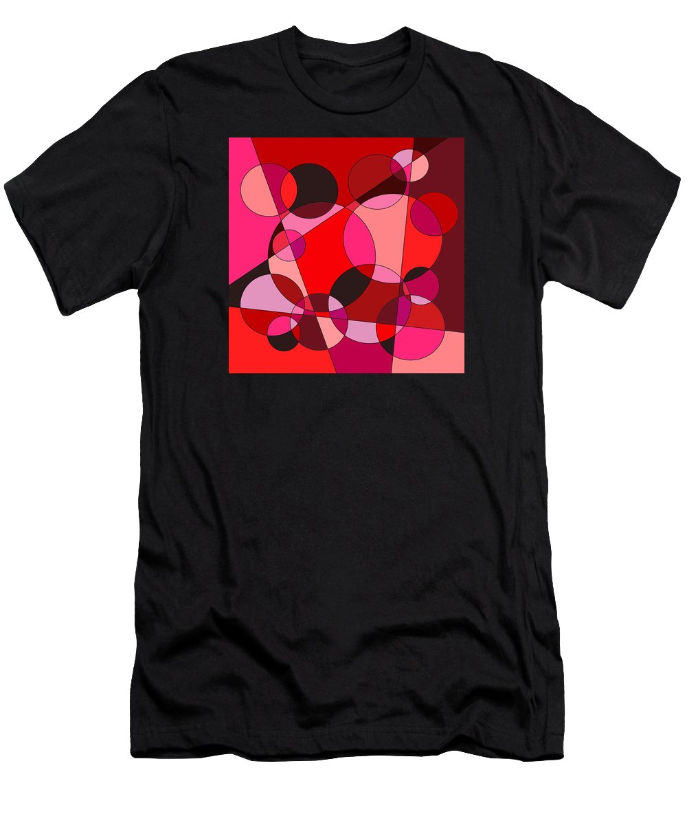 Valentine Men's T-Shirt (Athletic Fit) featuring the digital art Valentine Dreams by Jeff Gater