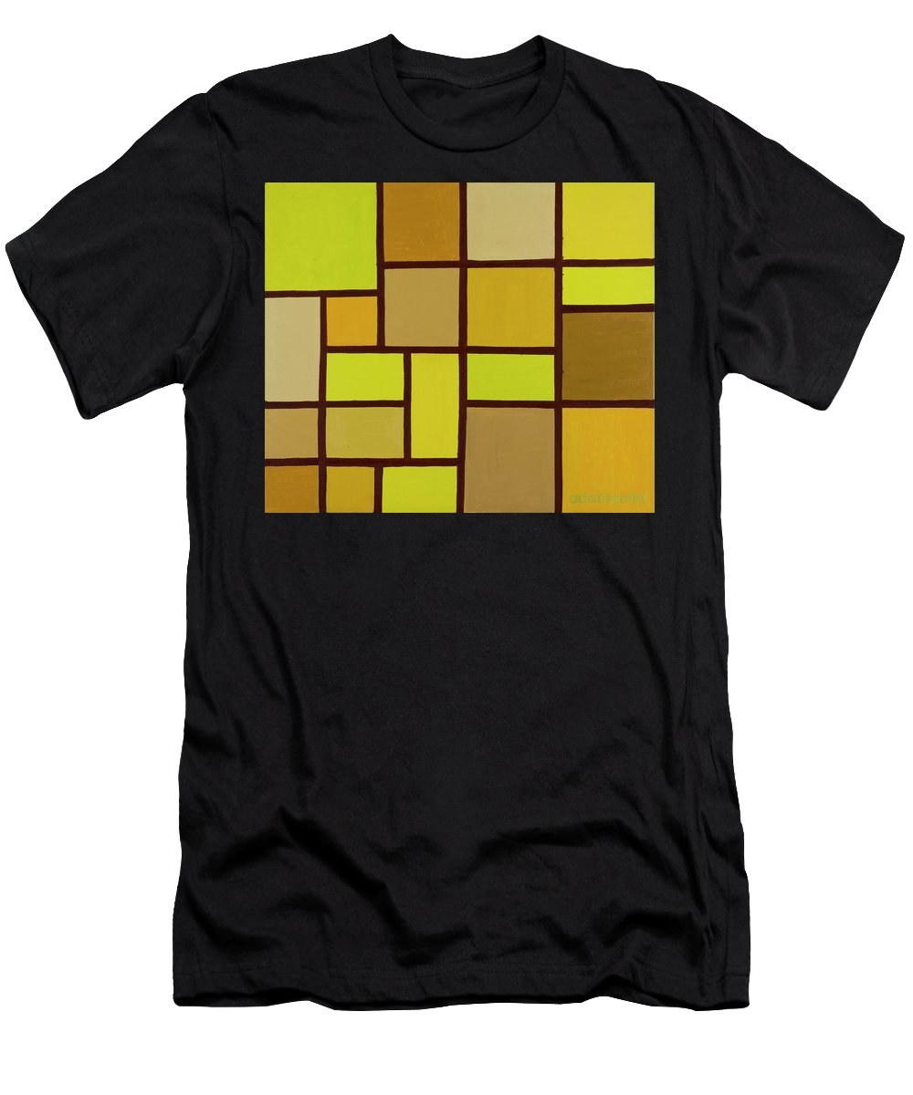 Valuable Earth T-Shirt featuring the painting Valuable Earth by Adamantini Feng shui