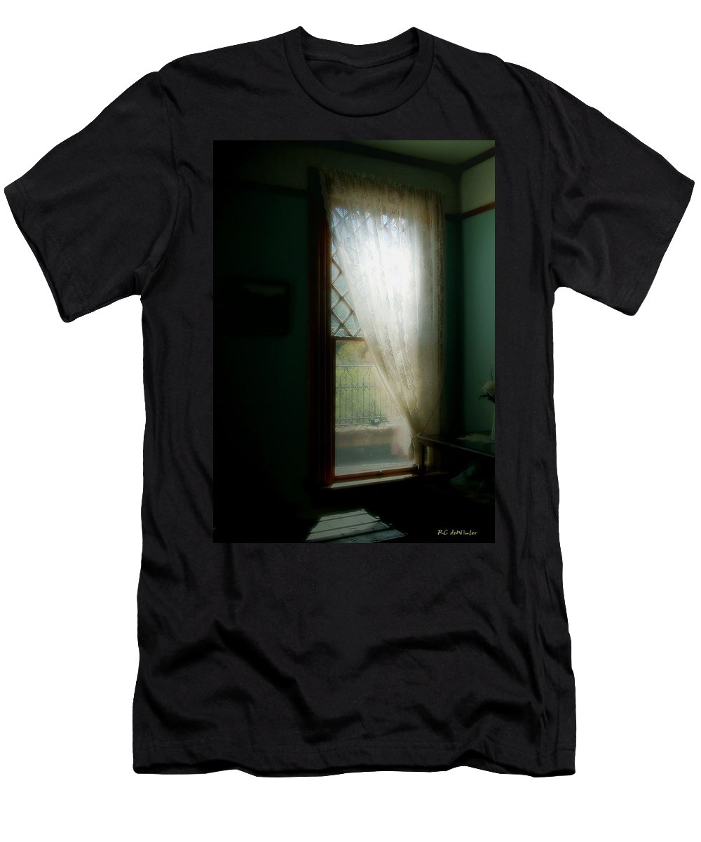 Antiques Men's T-Shirt (Athletic Fit) featuring the painting Velvet Afternoon by RC DeWinter